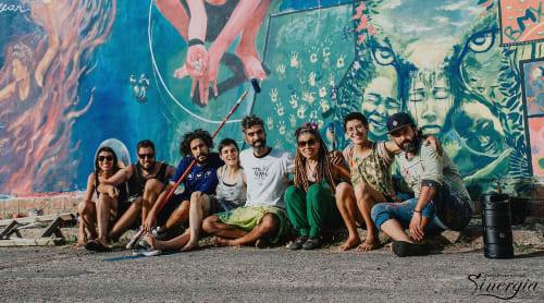 Elis Montagne - Murals and Street Murals