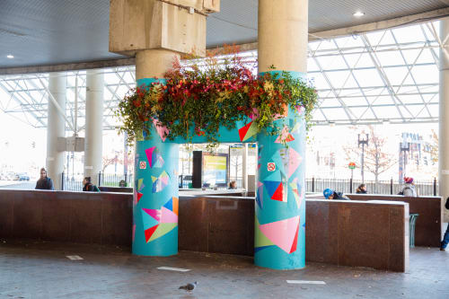 Floral Arrangements by Isenberg Projects seen at Boston, Boston - Flower Bursts