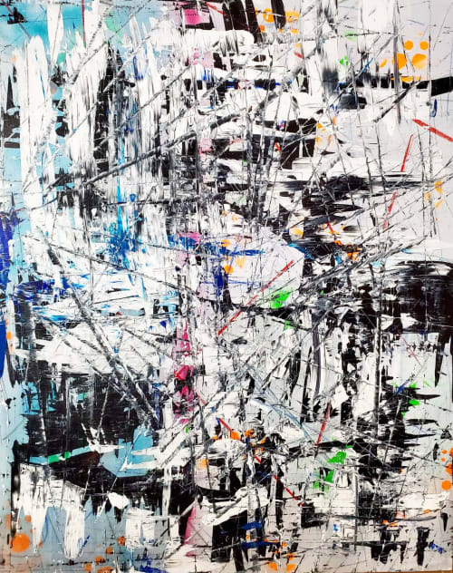 Paintings by Sona Fine Art & Design  - SFAD seen at Los Angeles, Los Angeles - Citylights