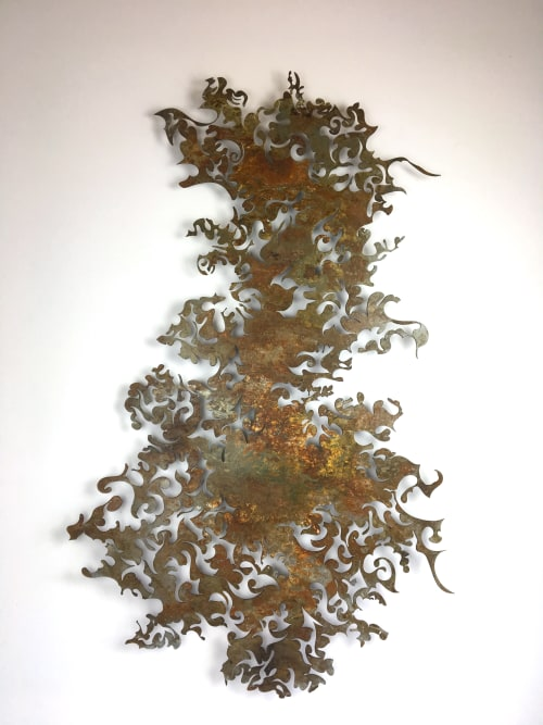 Art & Wall Decor by Denice Bizot seen at In-Town Gallery, Chattanooga - Swirl
