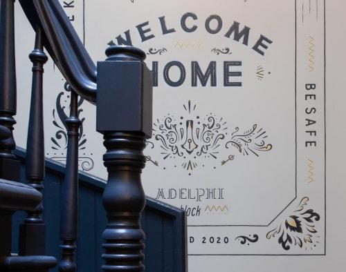 Interior Design by Lydia Beauregard seen at Adelphi Block, Victoria - Adelphi Block