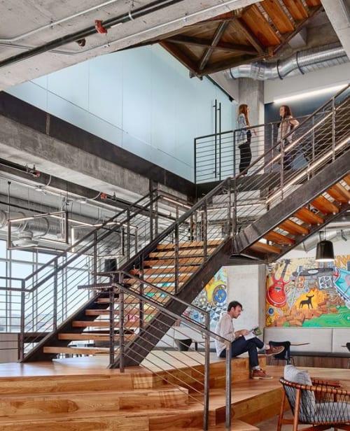 Architecture by Paul Santoleri seen at Cirrus Logic, Austin - cirrus logic headquarters