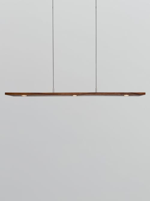 Pendants by Cerno seen at Private Residence, Newport Beach - Vix Linear Pendant