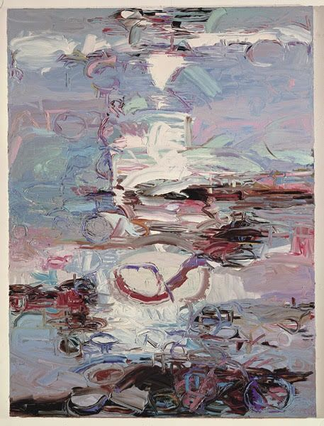 Paintings by John DiPaolo seen at Crocker Art Museum, Sacramento - A Role for the Gods