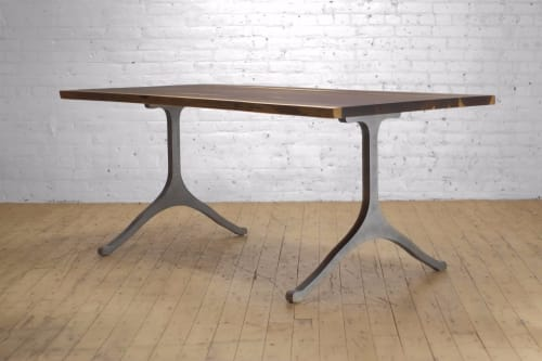 Kali Live Edge + Wish Dining Table   Tables by From the Source