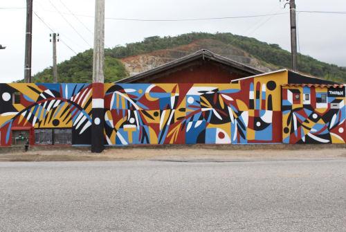 Thiago Thipan - Street Murals and Murals