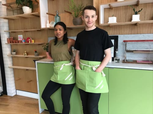Aprons by BoWorkwear at Hudson Jane, Brooklyn - Green Bistro Aprons