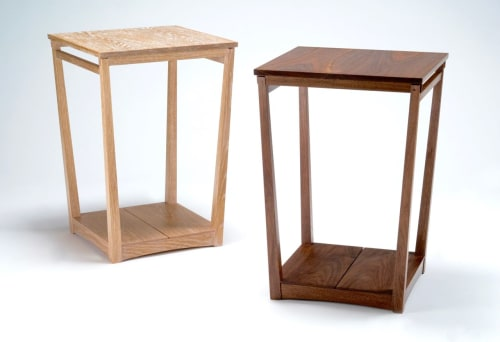Tables by Eben Blaney Furniture seen at Private Residence, Portland - Tapered Frame Side Table