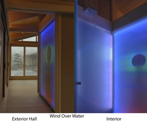 Lighting by Hap Tivey seen at Private Residence - Portland, OR, Portland - Wind Over Water