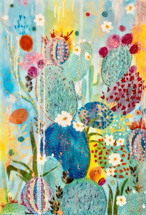 Paintings by Ashley Rose seen at Private Residence - Little Prescott