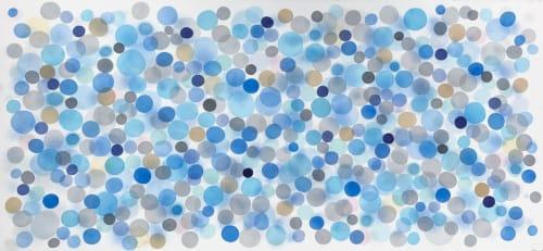 Paintings by Jan Heaton seen at Hiatus Spa + Retreat, San Antonio - Pearl 2
