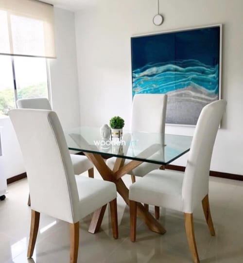 Paintings by JUANITA ECHEVERRY seen at Private Residence, Cali - sea Life