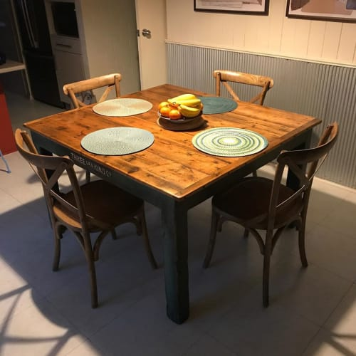 Tables by Three of a Kind Furniture seen at Private Residence, Goulburn - Dining Table