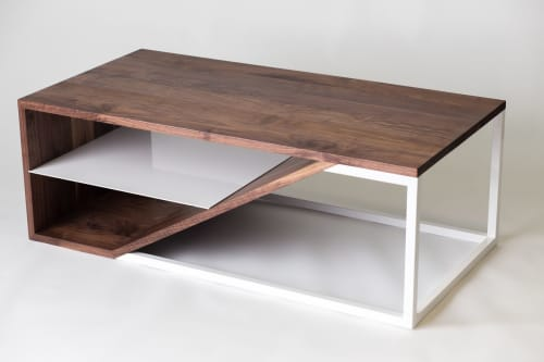 Tables by Harkavy Furniture seen at Portland, Portland - Cortado coffee table
