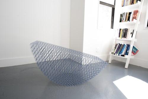 Chairs by Hannah Fink at Hannah Fink Studio, Brooklyn - Rocking Bench