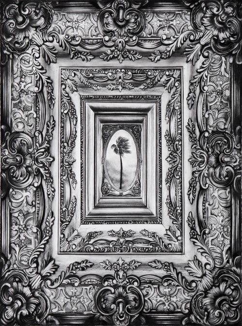 "Art & Wall Decor by Gonzalo Fuenmayor seen at Dolby Chadwick Gallery, SF, San Francisco - Gonzalo Fuenmayor's ""Palm"""