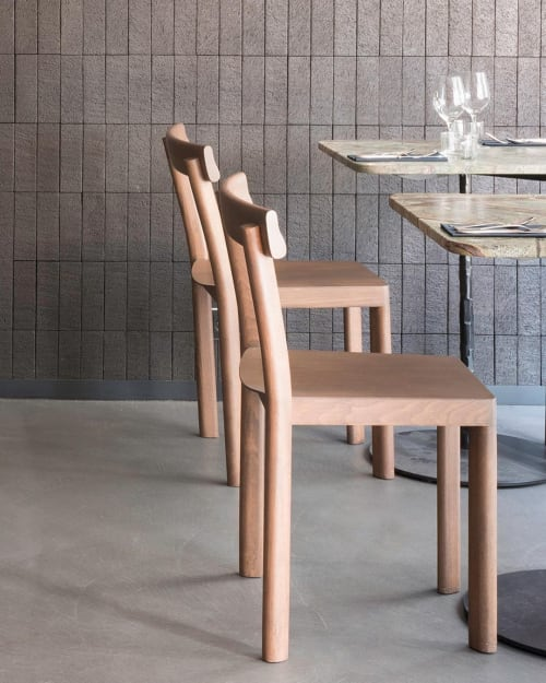 Chairs by SCMP DESIGN OFFICE seen at Braisenville, Paris - GALTA Chair