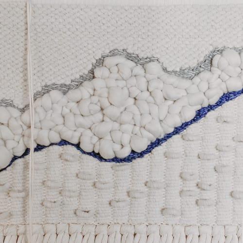 Wall Hangings by FIBROUS seen at Tiffany Dang, LPC, Austin - Handwoven Wall Hanging