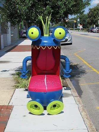 Art Curation by Erik Beerbower Sculptor seen at Thomasville, Thomasville - Monster Chair