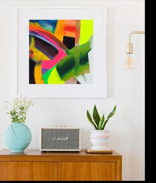 Paintings by Sir13artist seen at Private Residence, Summit - Abstract Painting