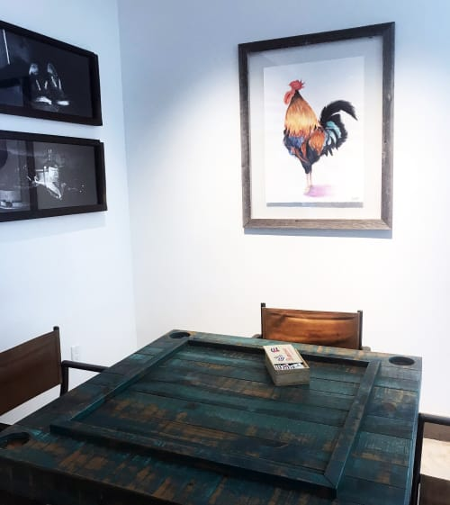 Key West Rooster | Paintings by Clementine Studio | The Perry Hotel - Key West in Key West