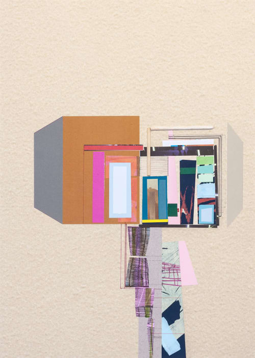 Paintings by Ana Pais Oliveira seen at Private Residence, Monthey - Heavy drawing #29