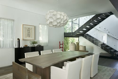 Tables by Alabama Sawyer seen at Private Residence, Los Angeles - Live Edge Dining Table