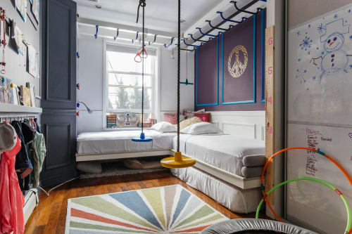 Beds & Accessories by Lena Lalvani seen at Tribeca, Manhattan, New York, NY, New York - Custom Built in Beds