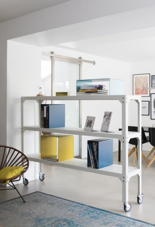 Furniture by MATIERE GRISE seen at Private Residence - Lyons, Lyon - Hégoa Shelf