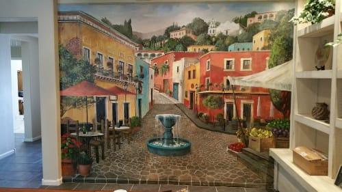 Gina Ribaudo (I Love Murals) - Street Murals and Public Art