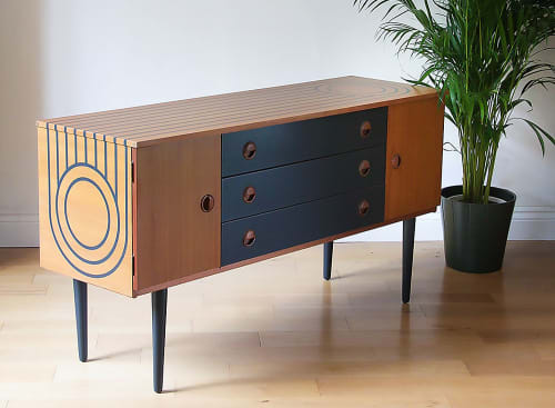 Furniture by Roc Studio seen at Private Residence, Edinburgh - Beautiful upcycled furniture
