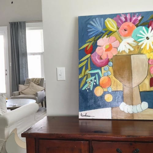 Paintings by Kim Kreis Art at Private Residence, Orange Beach - Rosemary