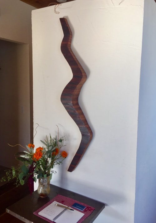 Wall Hangings by Lutz Hornischer seen at Piccino, San Francisco - Wooden Wall Art - Winding