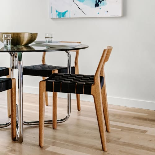Chairs by Sjotime Industries seen at Private Residence, Denver - Esker Dining Chair