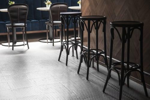 Interior Design by Studio Julia Christ seen at Café Louve, Lausanne - Café Louve