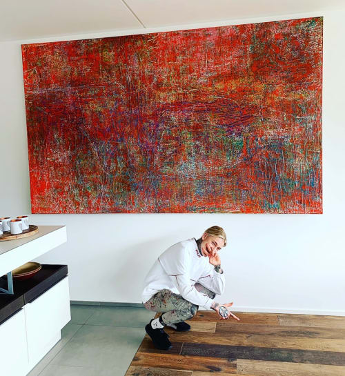 Paintings by ALEXANDER HOELLER - The Emotion Artist seen at Private Residence, Regensburg - AUGUST