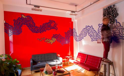 Dragon | Murals by BoogieREZ | Nord Anglia International School, New York in New York