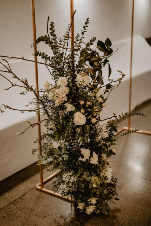 Floral Arrangements by Colibri seen at Portland, Portland - Wedding