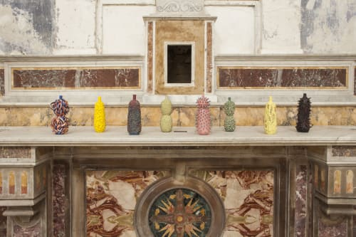 Vases & Vessels by Ahryun Lee at Chiesa di Santa Teresa, Benevento - MATERIALIA, 2017