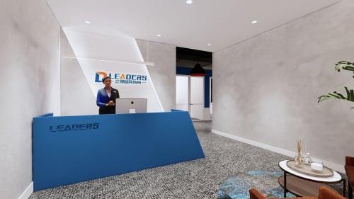 Interior Design by Studio Hiyaku seen at 187 Thomas St, Haymarket - Leaders Migration Office