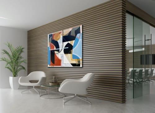 Paintings by TS ModernArt Studio seen at Los Angeles, Los Angeles - 72 and Sunny