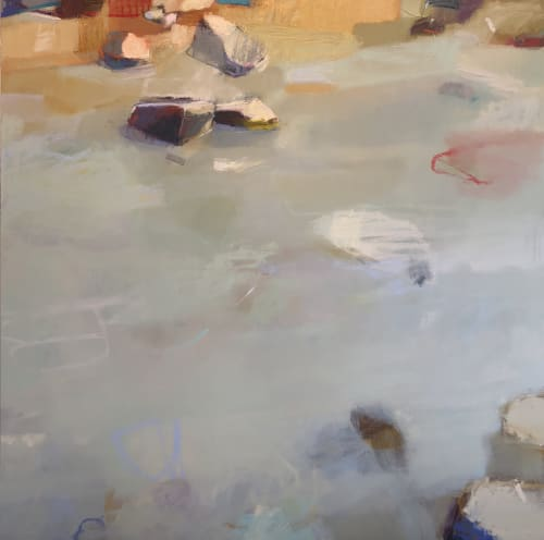 Paintings by Sharon Paster at Private Residence, Kentfield - Below the Surface
