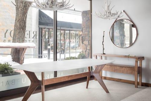 Tables by EK Reedy Furniture seen at EK Reedy Interiors, Jackson - Moran Dining Table
