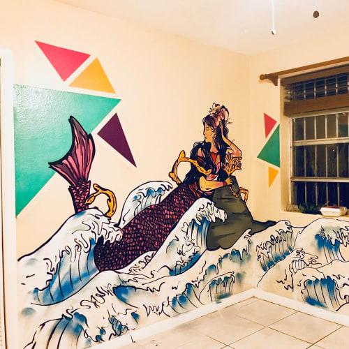 Murals by Rudy Mage - Bedroom mural