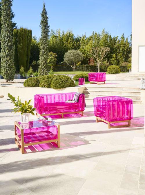 Couches & Sofas by MOJOW seen at Private Residence, Paris - YOMI EKO Wood Sofa
