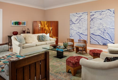 Interior Design by GIL WALSH INTERIORS at Private Residence - Sunny Florida