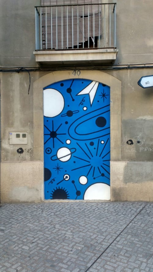 Street Murals by Elara Elvira seen at Manresa, Manresa - Gates
