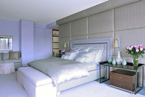 Linens & Bedding by Matouk seen at Private Residence, New York, New York - Linens & Bedding