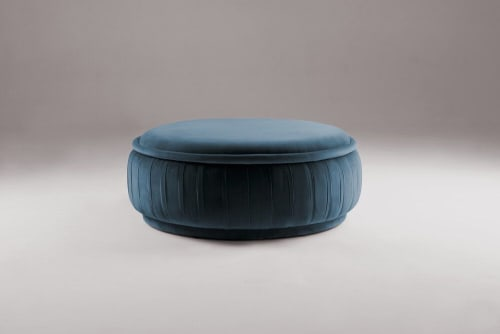 Benches & Ottomans by Marie Burgos Design and Collection seen at Creator's Studio, New York - Malibu Ottoman