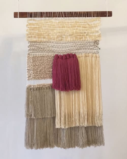 Wall Hangings by ORIS DESIGN seen at Selina Cuenca, Cuenca - Woven wall hanging